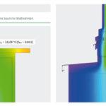 Die_thermische_Betrachtung_zeigt_durch_den_Isothermenverlauf_die_Oberflächentemperaturen_im_Bereich_der_Fensterbank._Abbildung:_Beck+Heun