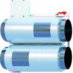 Luftventilatoren in Jetstrahl-Design. Bild: Airflow