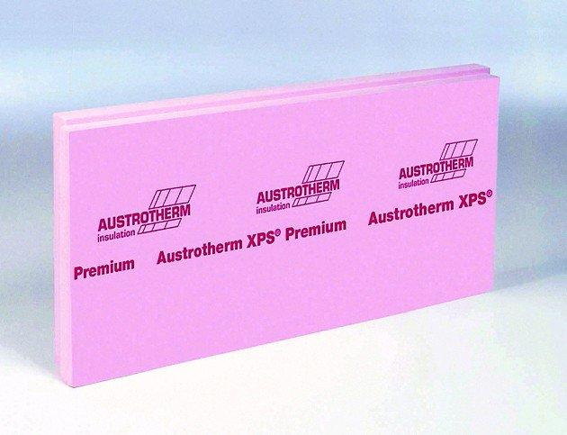 Flachdach- und Perimeterdämmung: XPS-Platte mit niedrigem Lambdawert