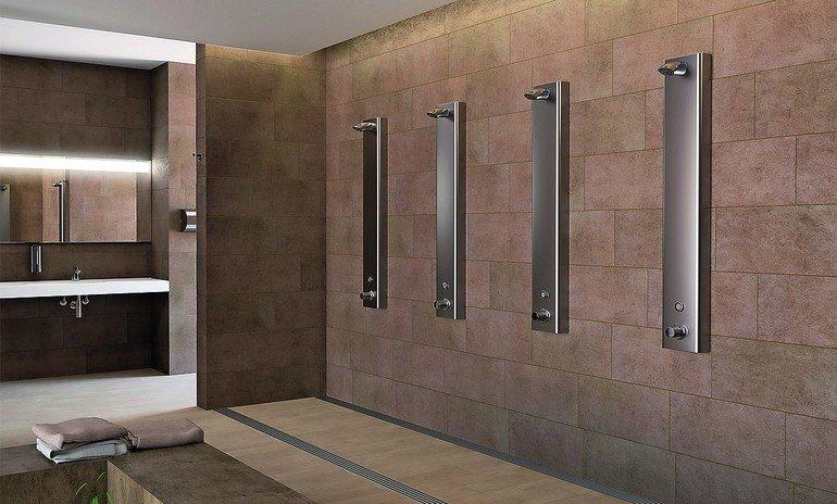 Hygiene dank Duschelementen mit Frischwasserstationen. Bild: Conti+