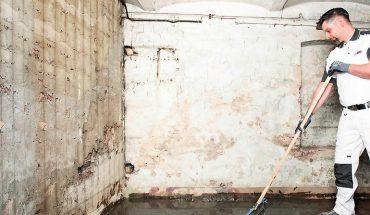 Sanierung von alten Kellerböden
