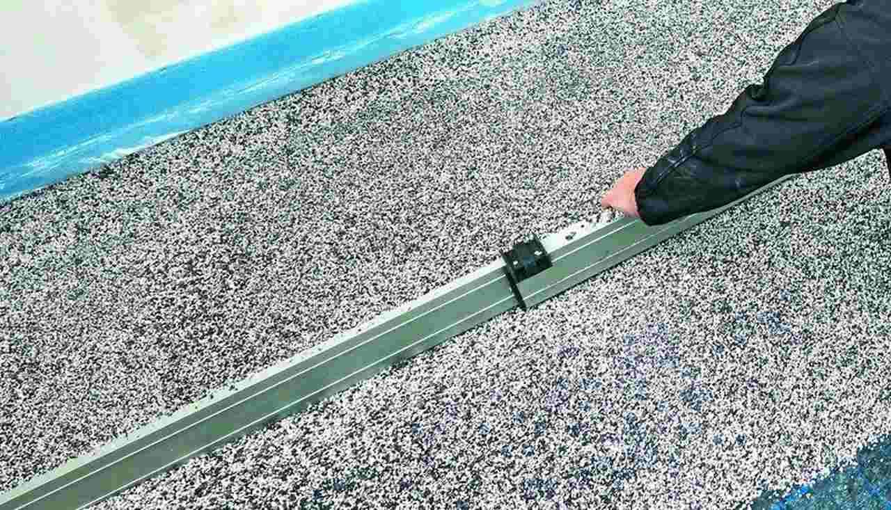Für den Ausgleich unebener Fußböden gemäß DIN 18560-2