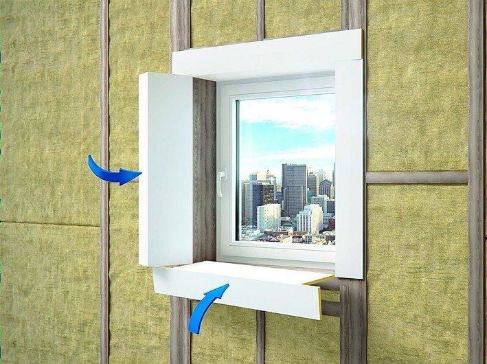 Profil für schnelle Fensterlaibung. Bild: NMC