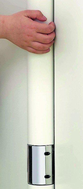 Klemmschutzlösung von Simonswerk für gefälzte und ungefälzte Türen