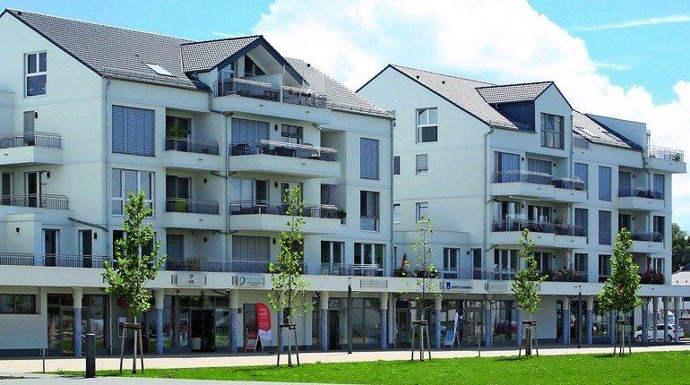 Wohngebäude aus Kalksandstein-Mauerwerk mit hoher Rohdichteklasse für guten Schallschutz. Bild: Unika