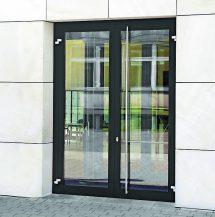 Brandschutztüren von Novoferm im Außenbereich