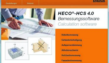 Die_bewährte_Bemessungssoftware_von_HECO_liegt_in_vierter_und_überarbeiteter_Version_vor._Die_HECO®-HCS_4.0_bietet_die_Möglichkeit,_Holz-_und_Dübelverbindungen_in_wenigen_Schritten_präzise_zu_berechnen.