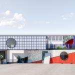 """Containerwerk-Installationen """"Microliving"""" und """"Temporary Housing"""" auf der Tortona Design Week. Bild: Containerwerk"""