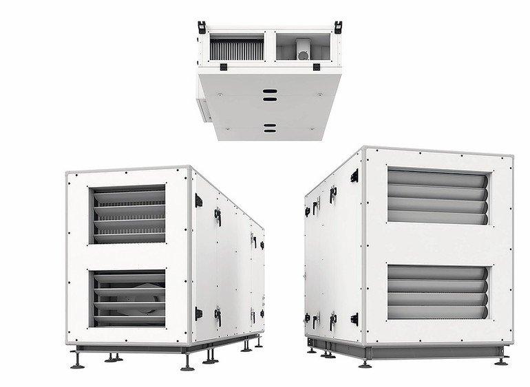 Effiziente Kompaktlüftungsgeräte