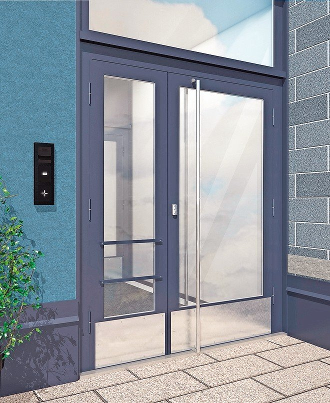 """Die integrierte Smart-Home-Lösung """"Kone Residential Flow"""" macht es möglich, Bewohner, Besucher, Lieferanten und Dienstleister mit dem Gebäude zu vernetzen."""