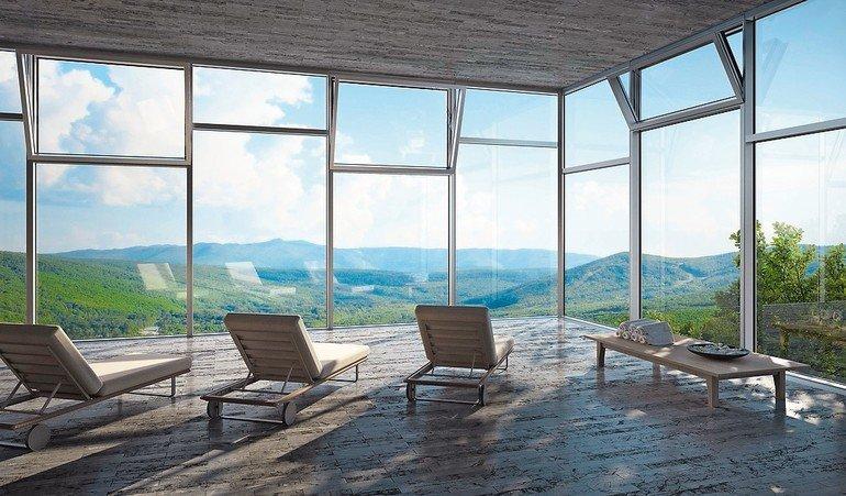 Gebäudeautomation: Per Sprachführung können mechatronische Fensterelemente bedient werden.