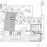 Grundriss Erdgeschoss Hotel Tivoli. Zeichnungen: CROSS Architecture