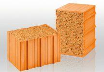 Mauerziegel: Dämmstoffgefüllt mit 42,5 cm