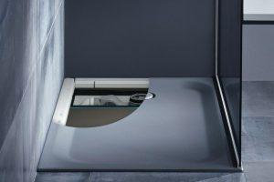 Mit der neuen Kombinationslösung für barrierearme Duschbereiche von Bette lassen sich Planungssicherheit und Verarbeitungsgeschwindigkeit deutlich erhöhen.