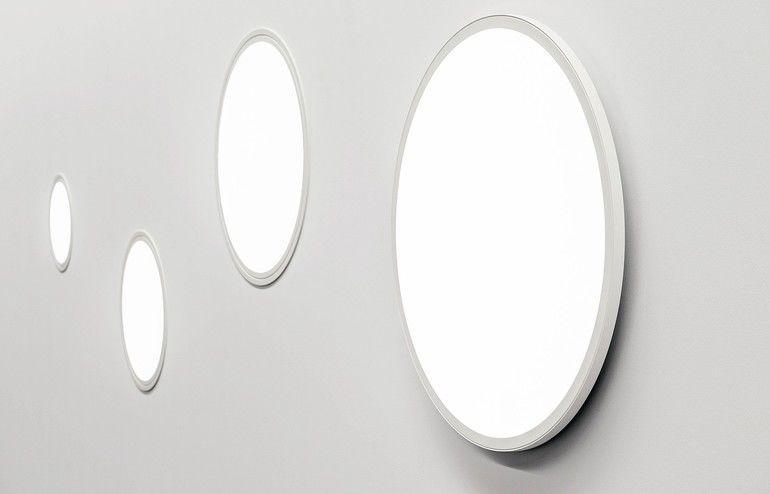 Leuchte mit rundem, minimalistischem Design für Lichtakzente: Mit C95 Circle gibt es eine runde Variante der Serie als Pendel-, Anbau- sowie Einbaulösung. Bild: Glamox