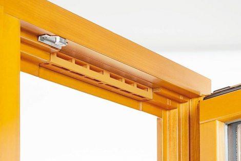 Hochabdichtender Falzlüfter für Holzfenster