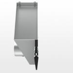 Durch die geringen Schlitzbreiten bereits ab 15 mm fügen sich die Schlitzauslässe in jede gewünschte Deckengestaltung dezent ein. Bild: Kiefer GmbH