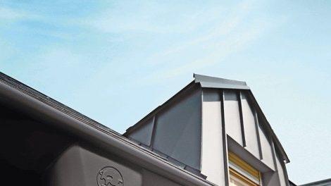 Entwässerungssystem für Dach und Fassade