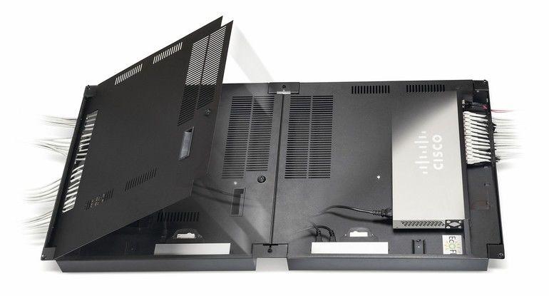 Verkabelung im Gebäude: Flexibel und bei besserem Brandschutz kommt Connect EcoFlex'IT in unterschiedlichen Arbeitsumgebungen zum Einsatz. Bild: Rosenberger Osi