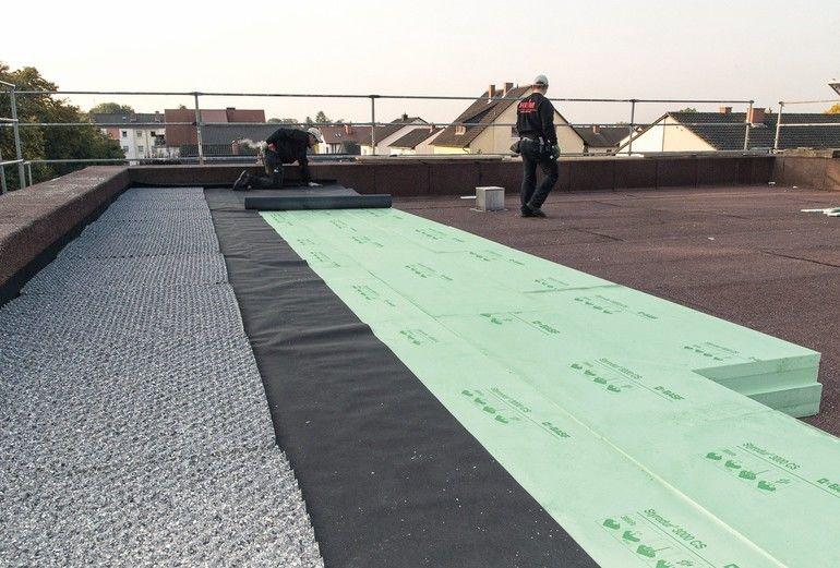 XPS-Dämmplatten für Umkehrdach und Perimeterdämmung