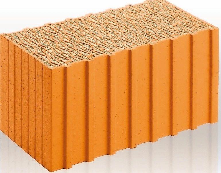 Hochleistungs-Dämmziegel mit U-Wert von bis zu 0,15 W/(m2K). Bild: Unipor