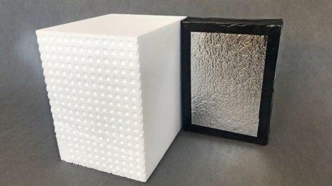 Vakuumdämmung der Variotec GmbH & Co. KG. Bild: Variotec