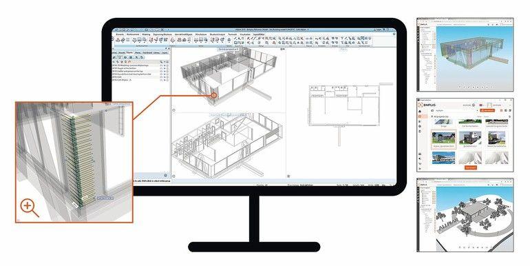 BIM-Lösung mit zahlreichen Detailverbesserungen.Bild: Allplan GmbH