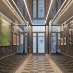 Foyerfußboden eines Bürogebäudes in Berlin