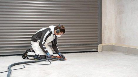 Garagenboden-Sanierung nach dem Verfahren von Isotec