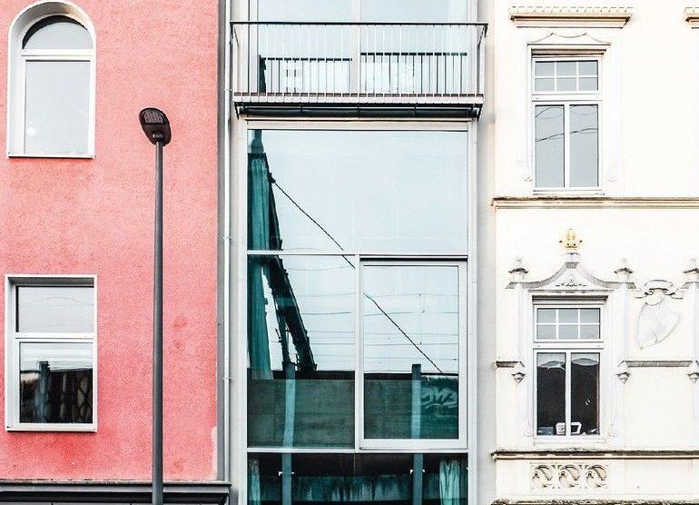 Außenansicht Wohngebäude