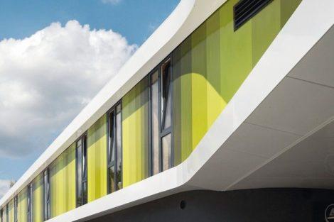Aluminiumprofile gestalten Fassade