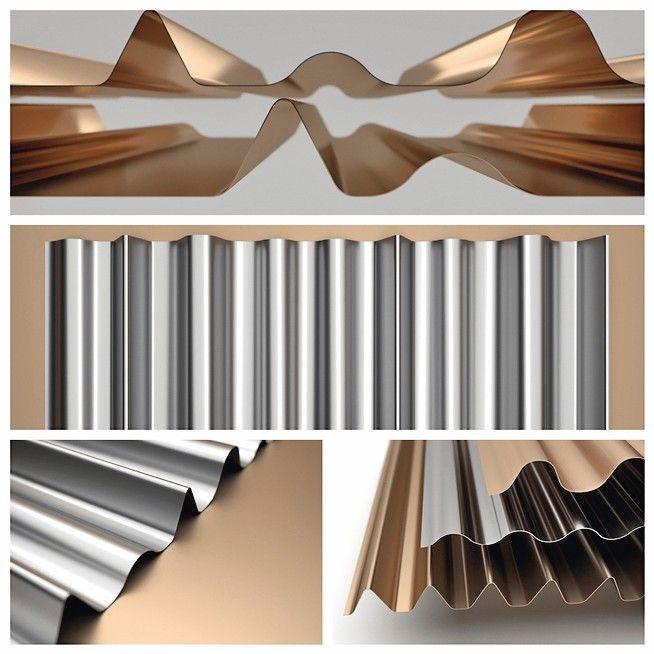 Neues Fassadenprofil wellTEC von MN Metall