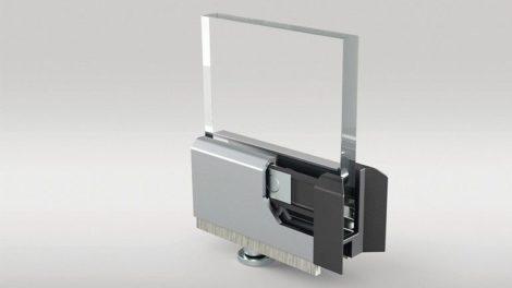 Schiebe-Dreh-System SF25 mit einer Seitenverriegelung von Sunflex