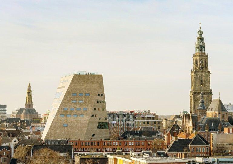 Neubau des Kulturzentrums in Groningen