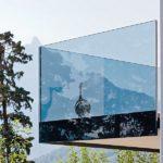 """Ganzglasgeländer """"Swissrailing Flat"""" von Glas Trösch"""