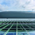 Einkaufszentrum Docks in Brüssel mit ausgefeiltem Lüftungssystem für optimalen Rauchabzug