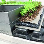 Unterbau einer Dachbegrünung. Bild: ZinCo