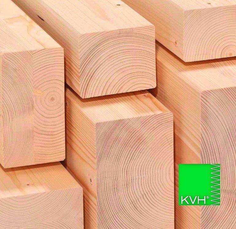 Neue Vereinbarungen zu KVH Konstruktionsvollholz Bild: Überwachungsgemeinschaft Konstruktionsvollholz e.V.
