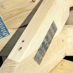 Nagelplatten-Konstruktionen bieten für unterschiedlichste Bauaufgaben gute Lösungen, wenn leichte Konstruktionen, besondere Formen oder große Spannweiten gefragt sind. Bild: Achim Zielke für Krug/Gin
