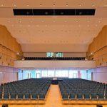 Stadthalle Bad Neustadt: Der Hauptsaal bietet Platz für bis zu 1200 Personen. Bild: Michael Miltzow
