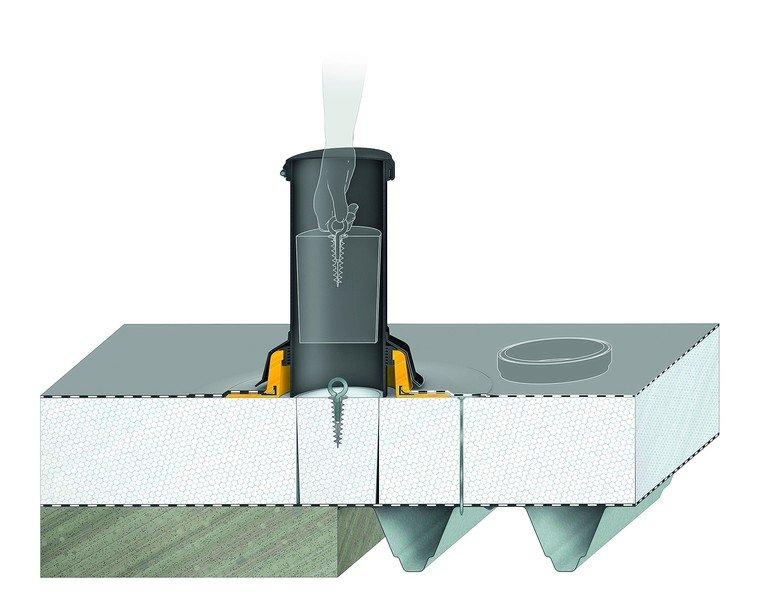 Kontrolle über Dampfsperre und Dichtigkeit. Bild: Sita Bauelemente