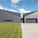 Schiefer-Rechteck-Doppeldeckung für Neubau eines Einfamilienhauses. Bilder: Rathscheck Schiefer