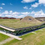 Dachabdichtung und Dampfbremse aus EPDM für Brennereigebäude