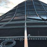 Kuppeldach mit EPDM-Abdichtungsbahnen