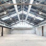 Raumlufttechnische Anlage in Veranstaltungszentrum in einer alten Lokremise in Stuttgart