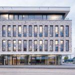 Der Neubau für die Med 360°-Firmenzentrale in Leverkusen-Manfort