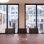 Brandschutzverglasungen in der Med 360°-Firmenzentrale in Leverkusen-Manfort