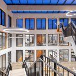 """Die Brandschutzgläser """"Contraflam 30"""" in der Med 360°-Firmenzentrale in Leverkusen-Manfort"""