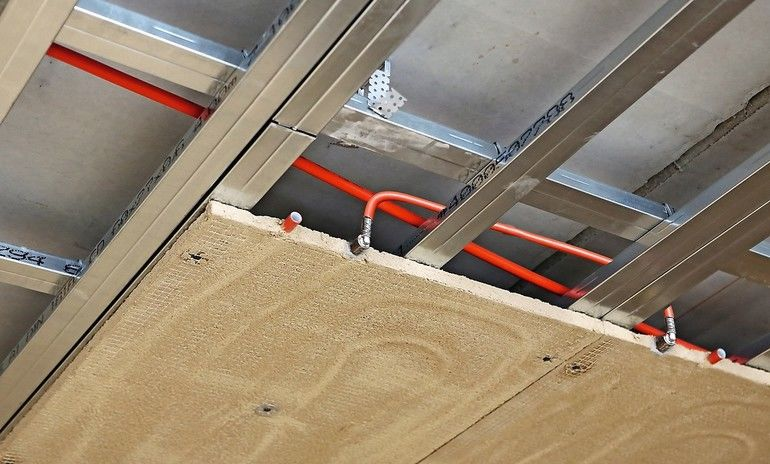 Klimadecke aus Lehm - Aufbauhöhe von 3 bis 3,5 cm