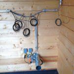 Ermittlung von Feuchtigkeit und Temperatur im Holzhaus